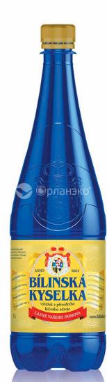 Лечебно-столовая минеральная вода «БИЛИНСКА КИСЕЛКА»